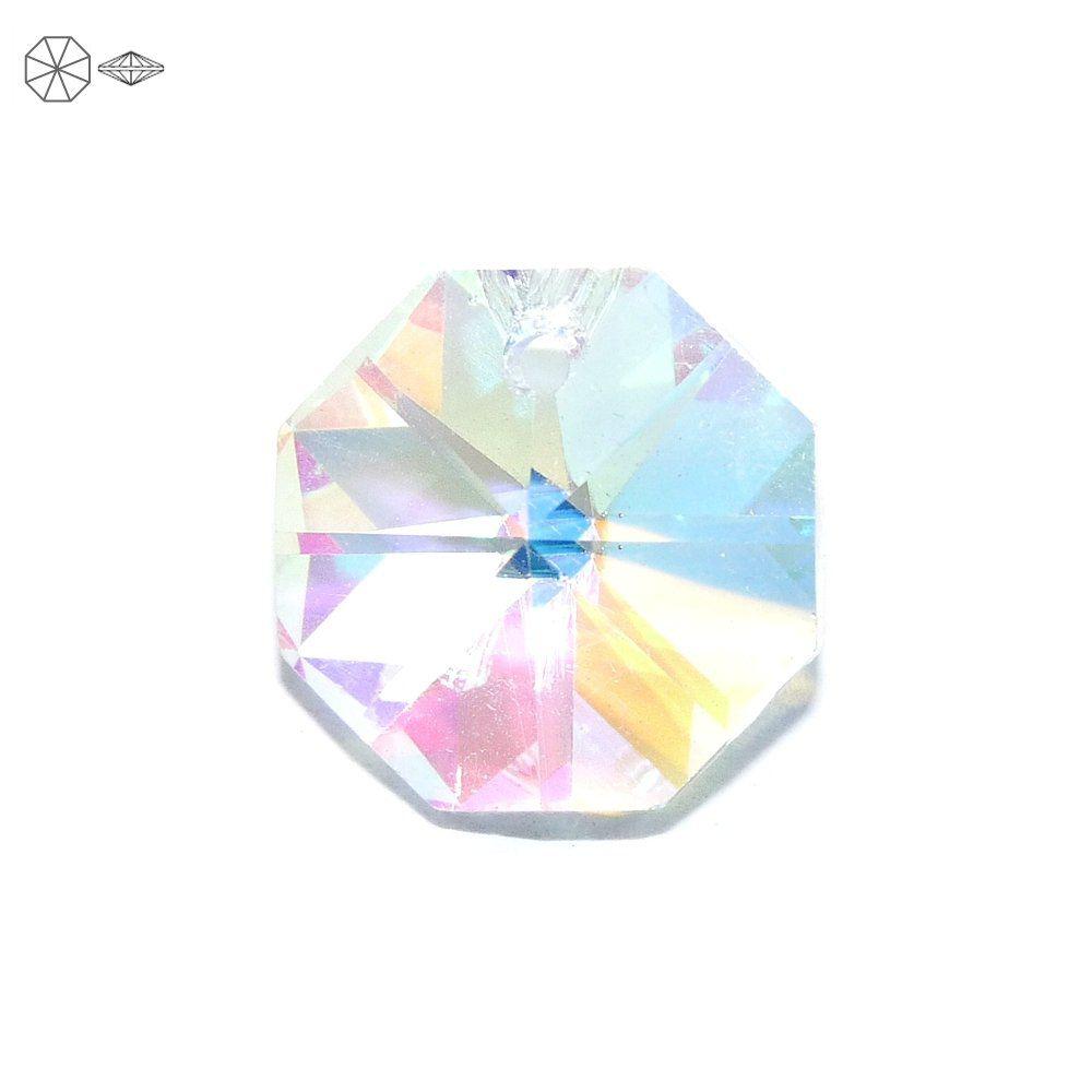 Pingente Castanha de Cristal - 14mm  - Nathalia Bijoux®