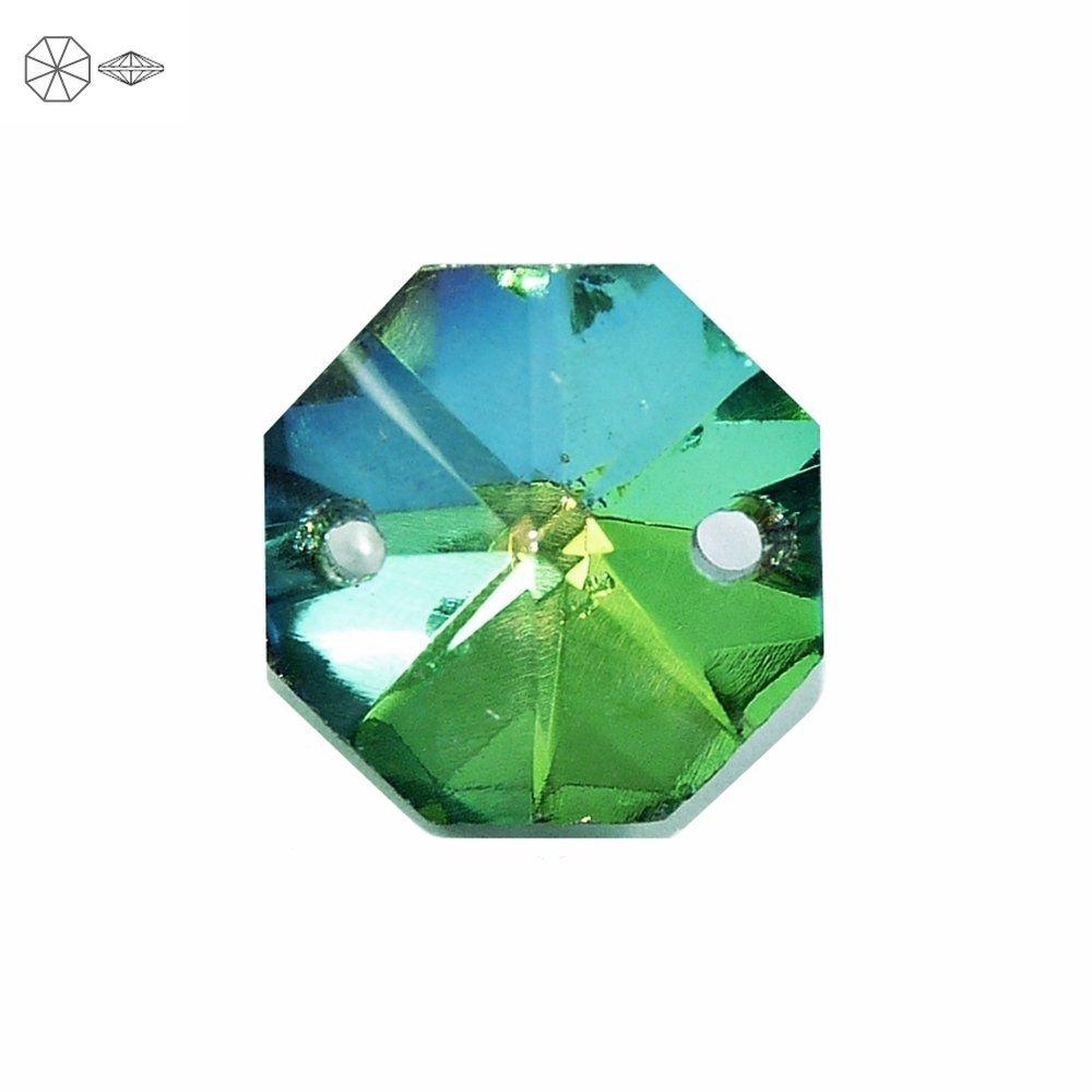 Alongador Castanha de Cristal 2 Saídas - 20mm  - Nathalia Bijoux®