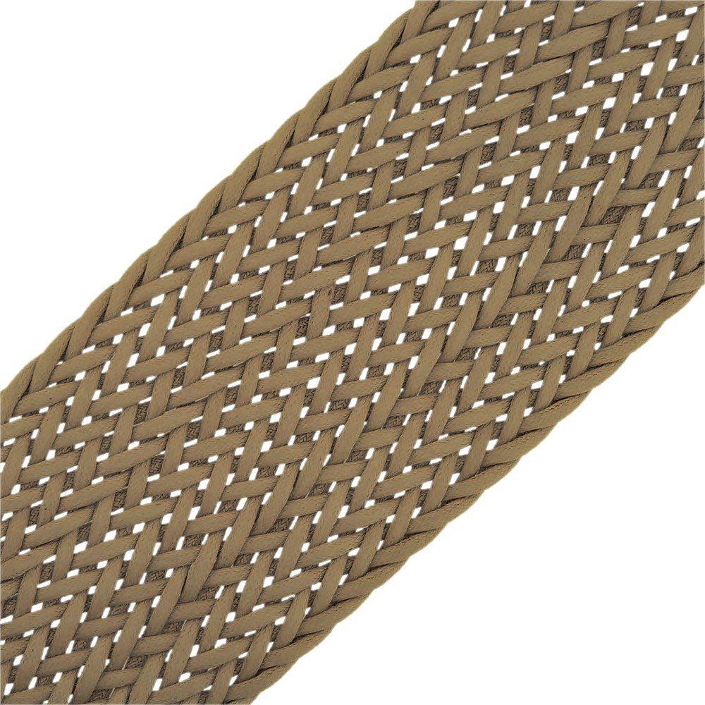 Cordão Encerado Trançado - Belina - 50mm - 10m  - Nathalia Bijoux®