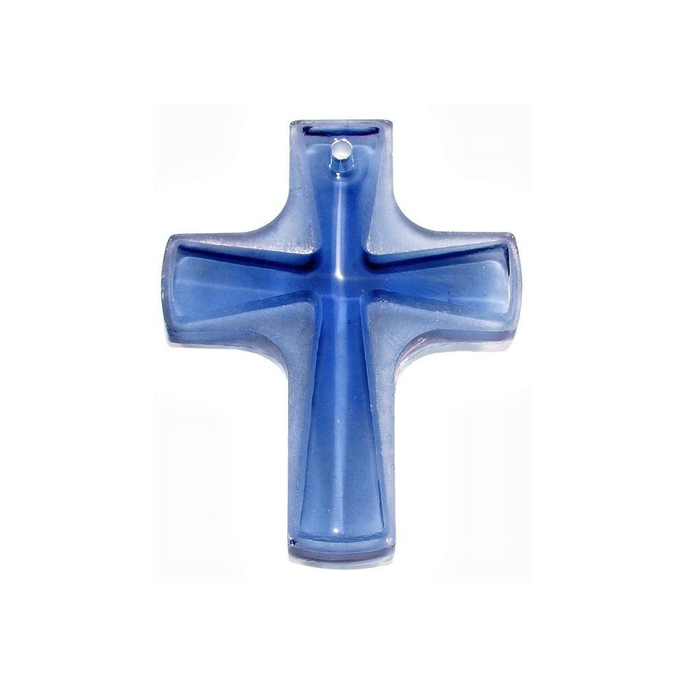 Pingente Cruz de Cristal - 37mm  - Nathalia Bijoux®