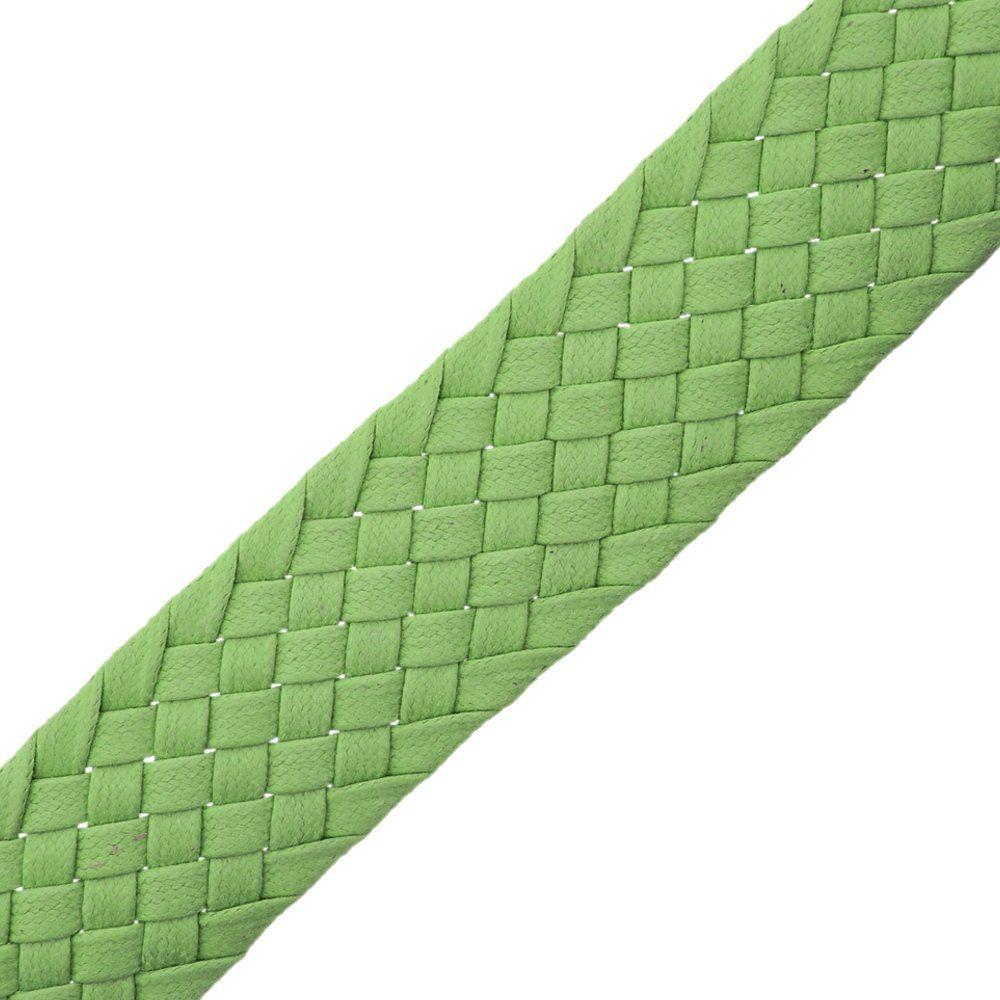 Cordão Encerado Trançado - Verde - 34mm - 25m  - Nathalia Bijoux®
