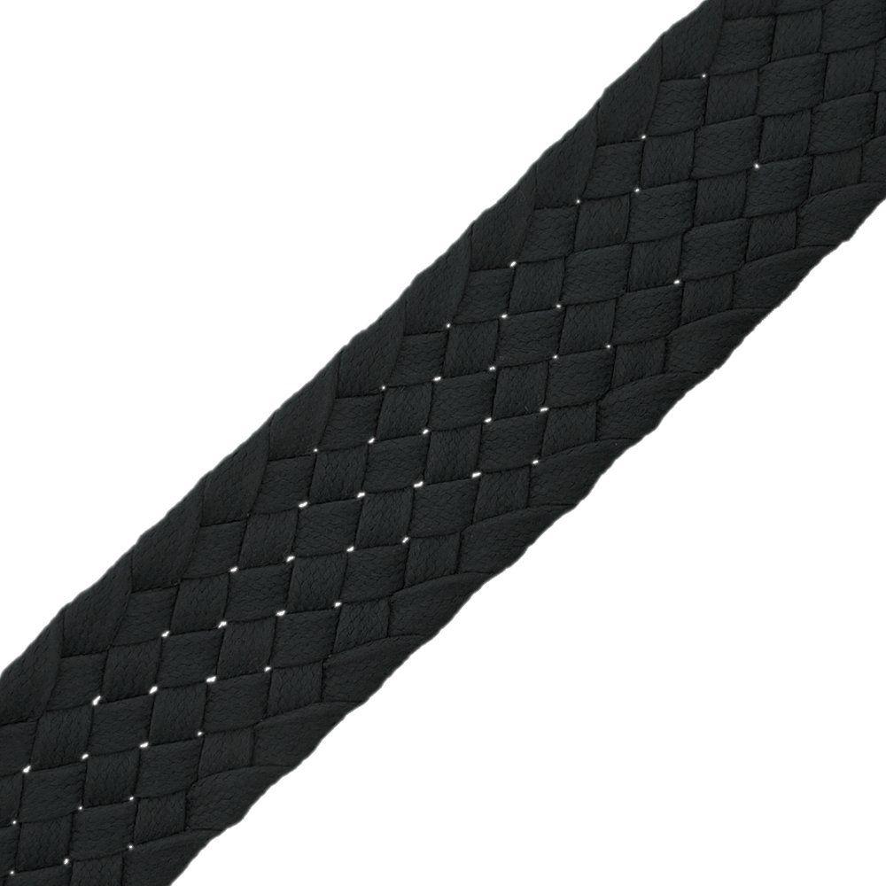 Cordão Encerado Trançado - Preto - 34mm - 25m  - Nathalia Bijoux®