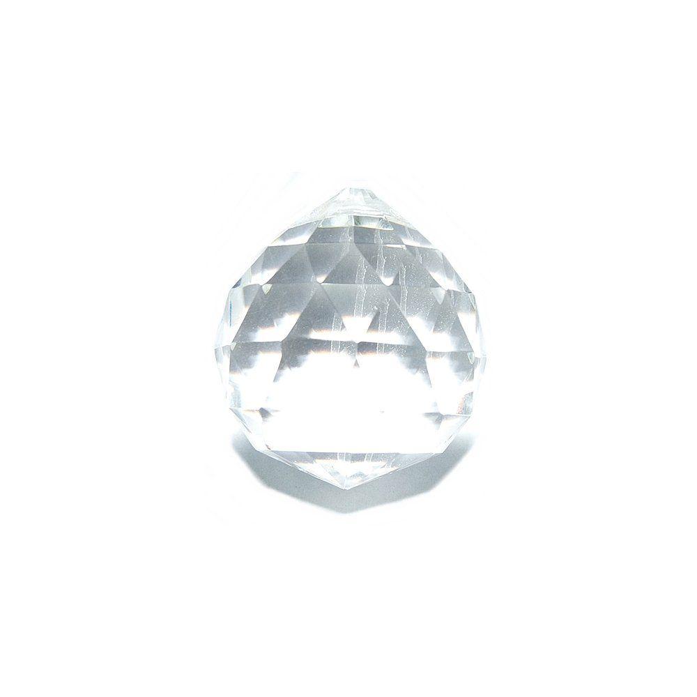 Pingente Gota de Cristal - 23mm  - Nathalia Bijoux®