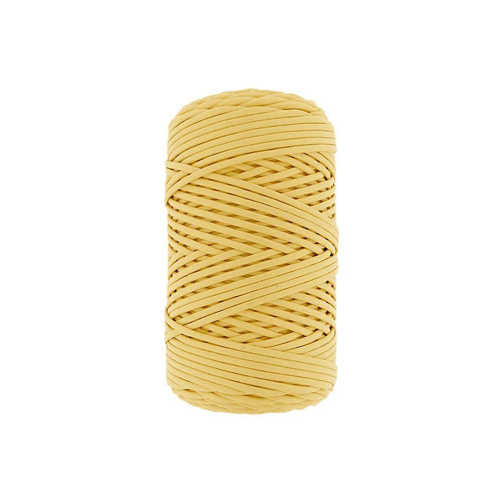 Cordão Encerado - Amarelo (011) - 1mm - 100m  - Nathalia Bijoux®