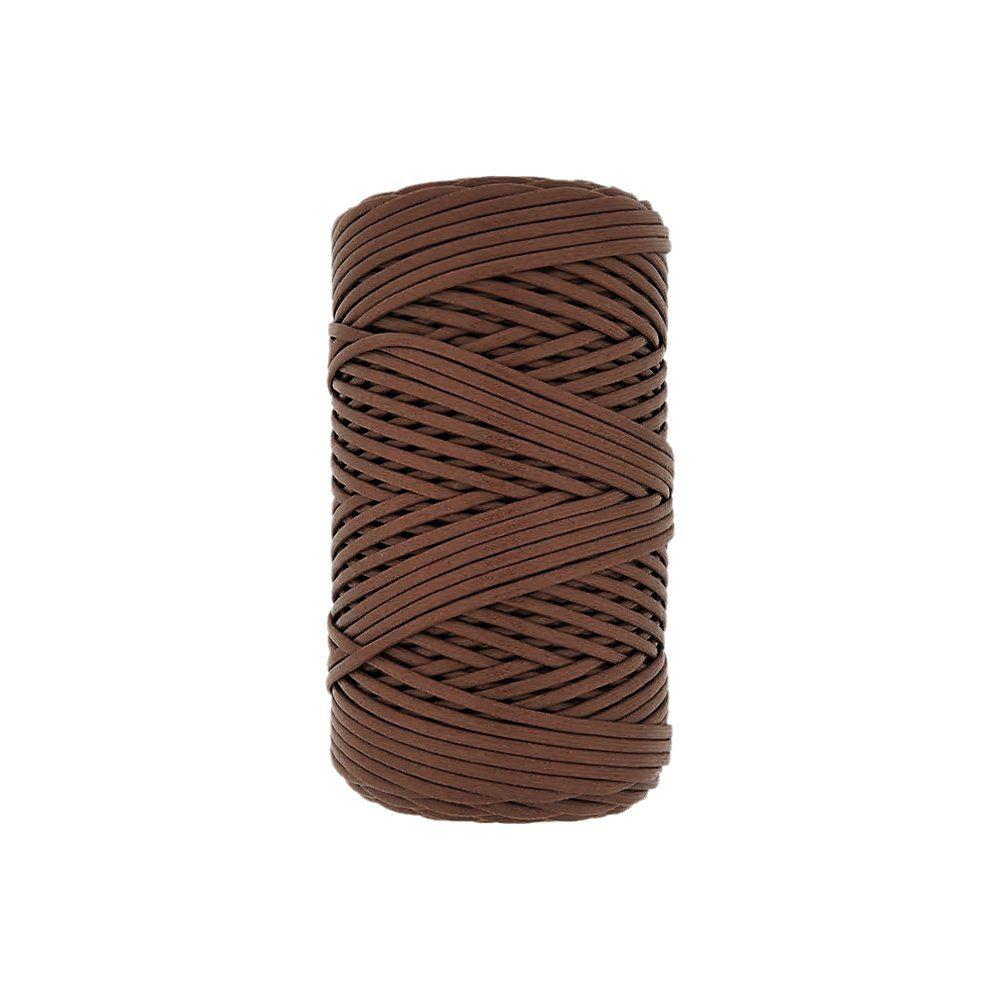 Cordão Encerado - Bravo Brown (393) - 1mm - 100m  - Nathalia Bijoux®