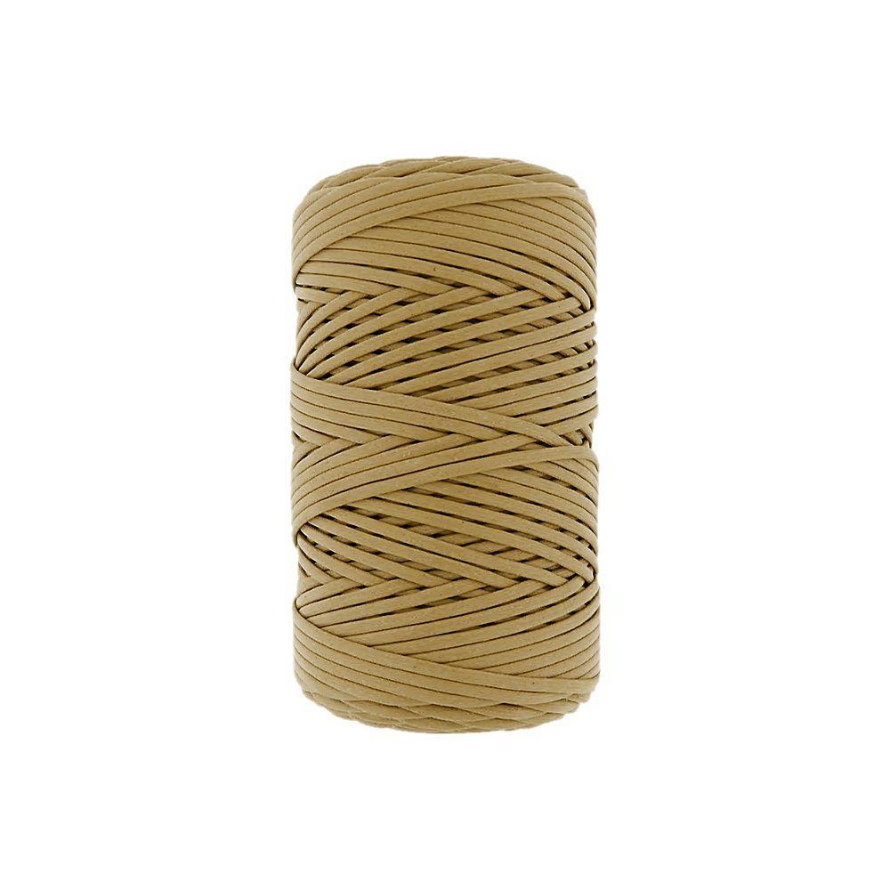Cordão Encerado - Mostarda (321) - 1mm - 100m  - Nathalia Bijoux®