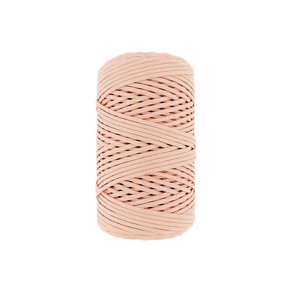 Cordão Encerado - Salmão (336) - 1mm - 100m  - Nathalia Bijoux®