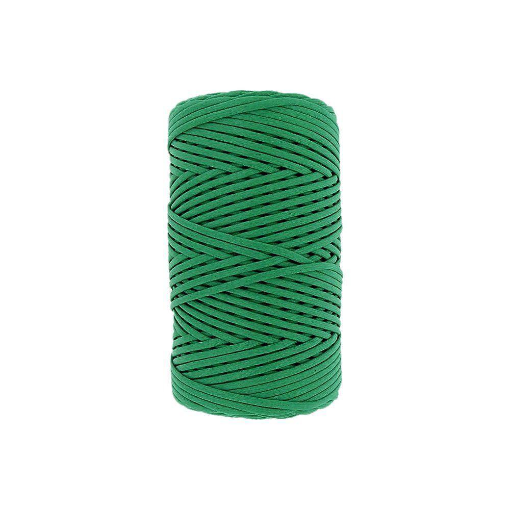 Cordão Encerado - Verde (476) - 1mm - 100m  - Nathalia Bijoux®