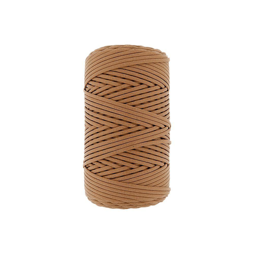 Cordão Encerado - Whisky (453) - 1mm - 100m  - Nathalia Bijoux®