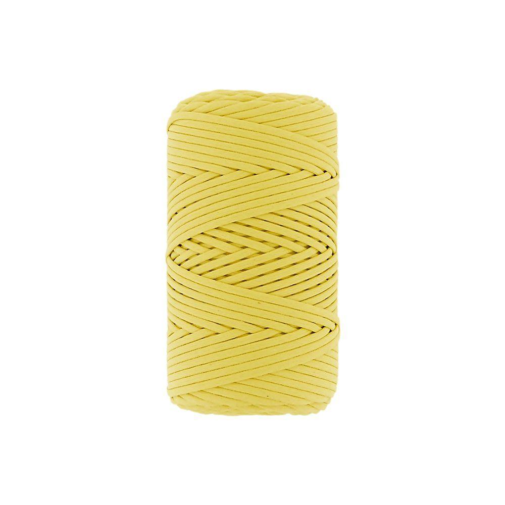 Cordão Encerado - Amarelo Cítrico (462) - 2mm - 100m  - Nathalia Bijoux®