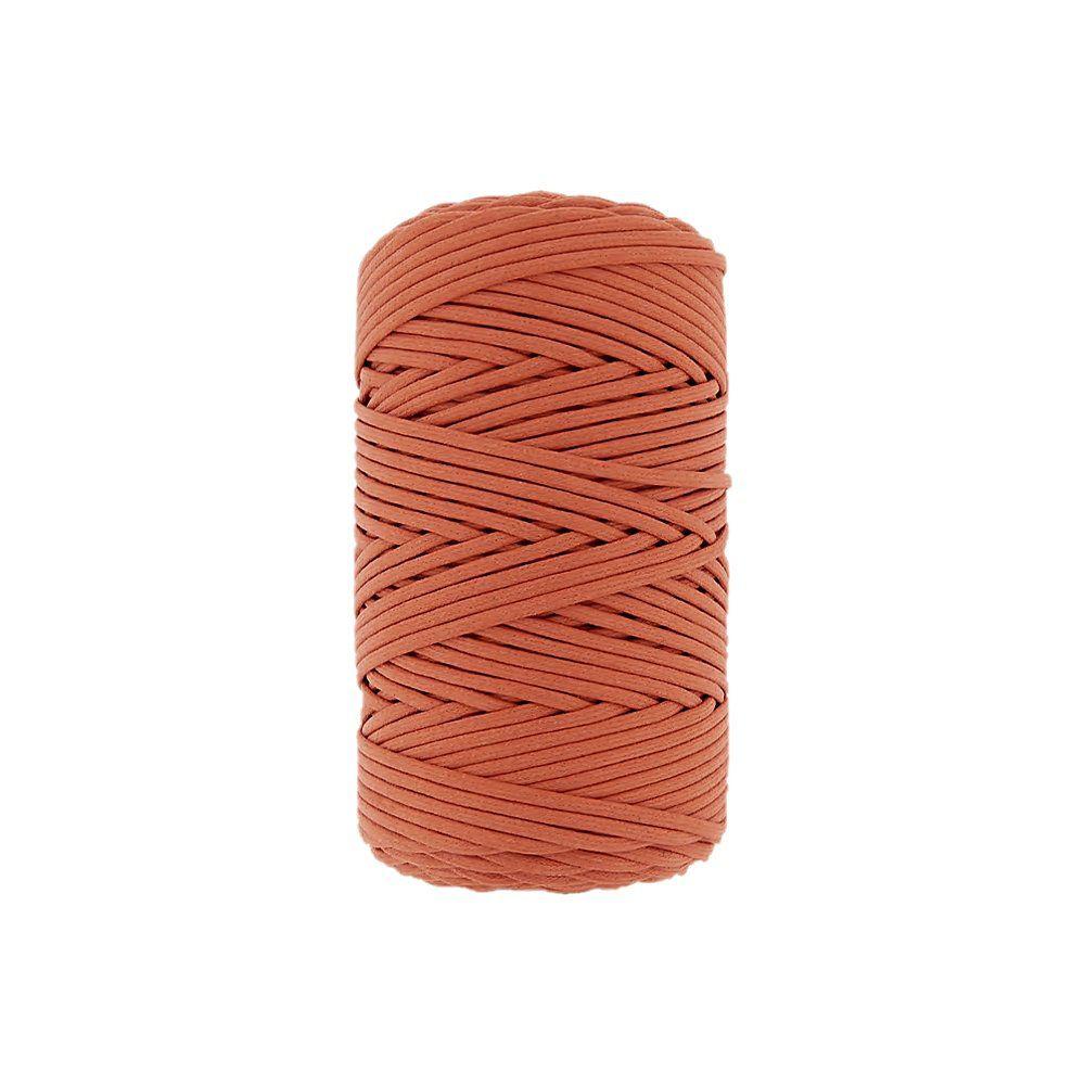 Cordão Encerado - Cenoura (319) - 2mm - 100m  - Nathalia Bijoux®