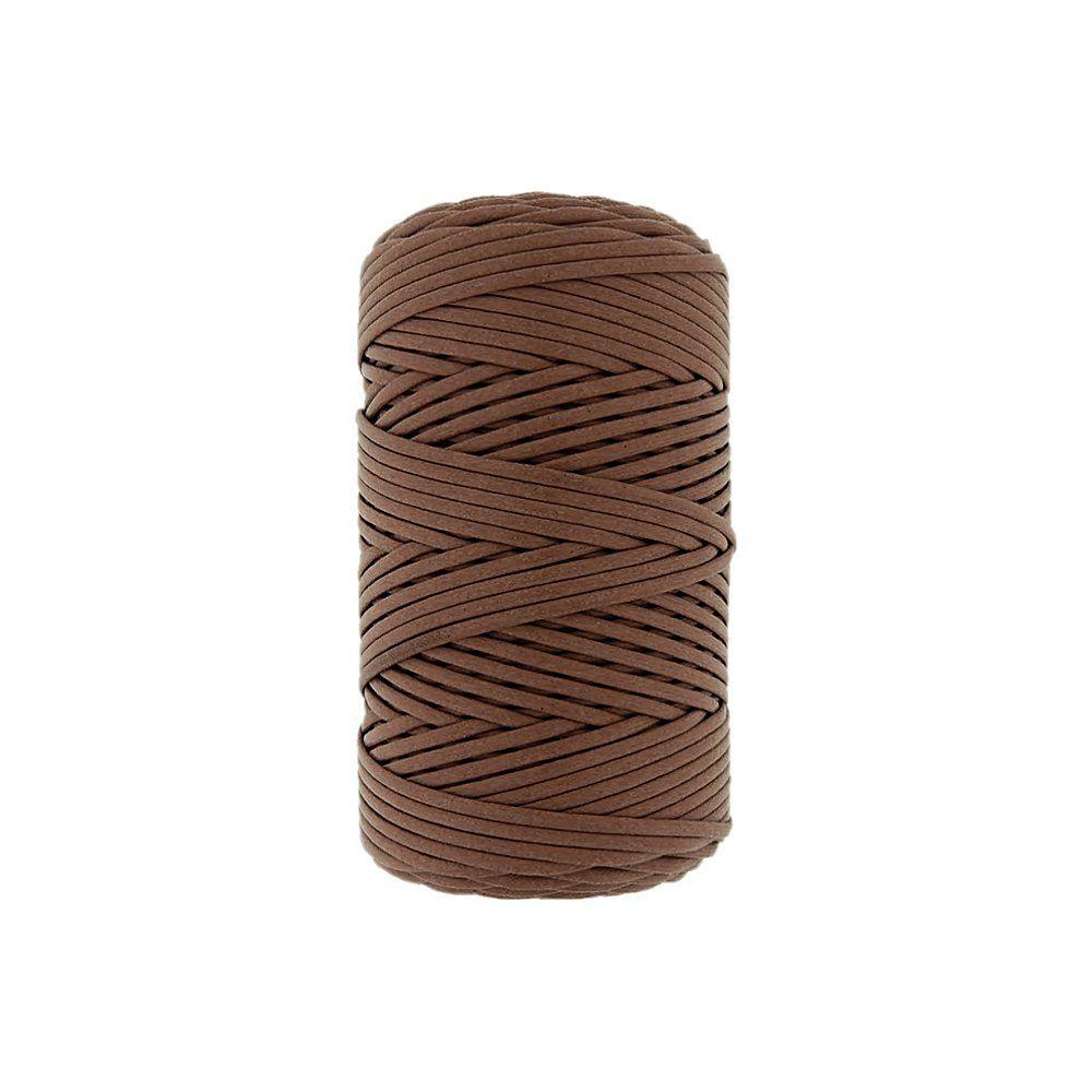 Cordão Encerado - Ferrugem (122) - 2mm - 100m  - Nathalia Bijoux®