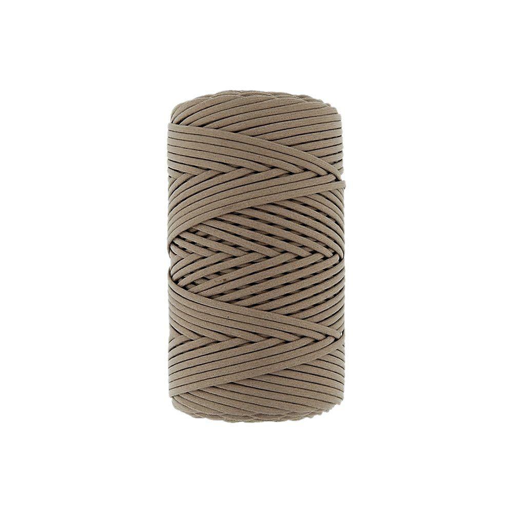 Cordão Encerado - Kaki Caribe (059) - 2mm - 100m  - Nathalia Bijoux®