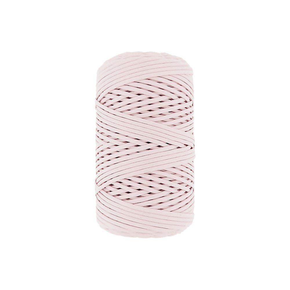Cordão Encerado - Rosa Bebê (402) - 2mm - 100m  - Nathalia Bijoux®