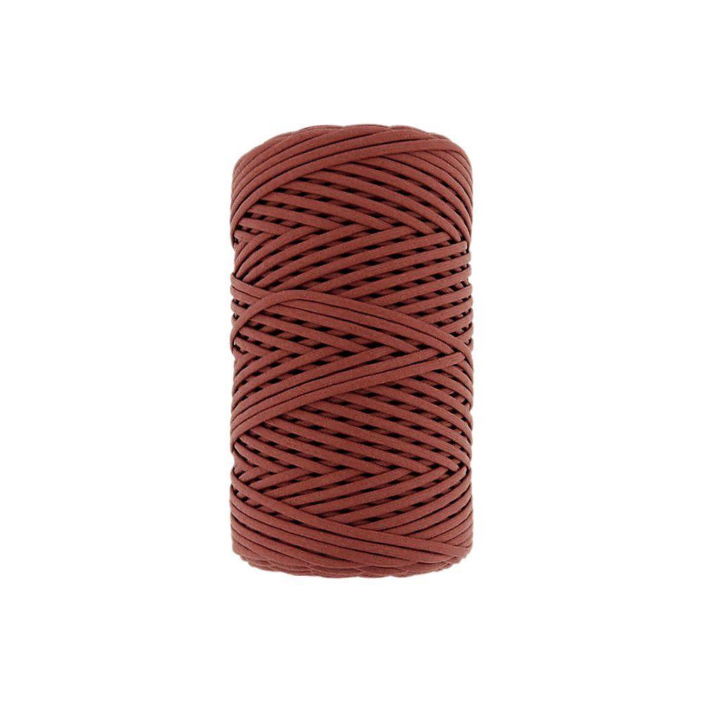 Cordão Encerado - Terra Cota (329) - 2mm - 100m  - Nathalia Bijoux®