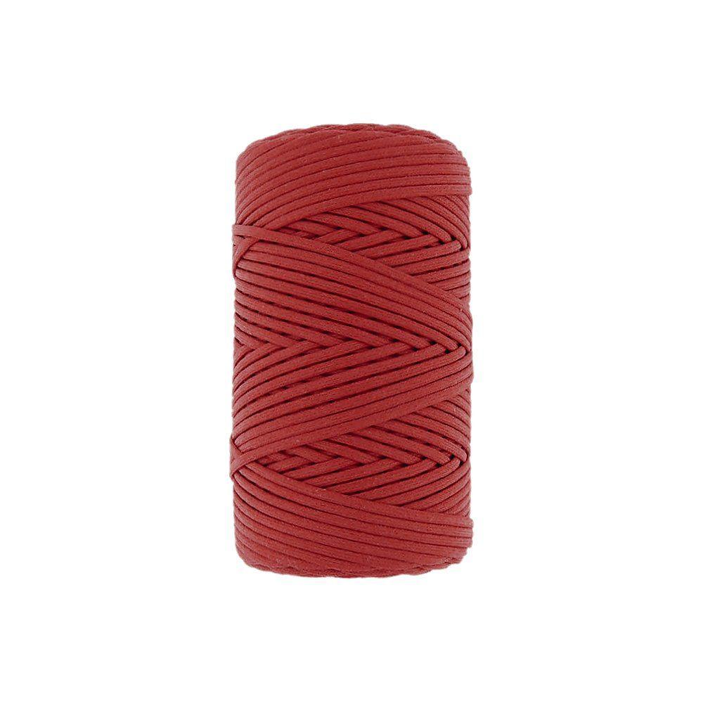 Cordão Encerado - Vermelho (005) - 2mm - 100m  - Nathalia Bijoux®