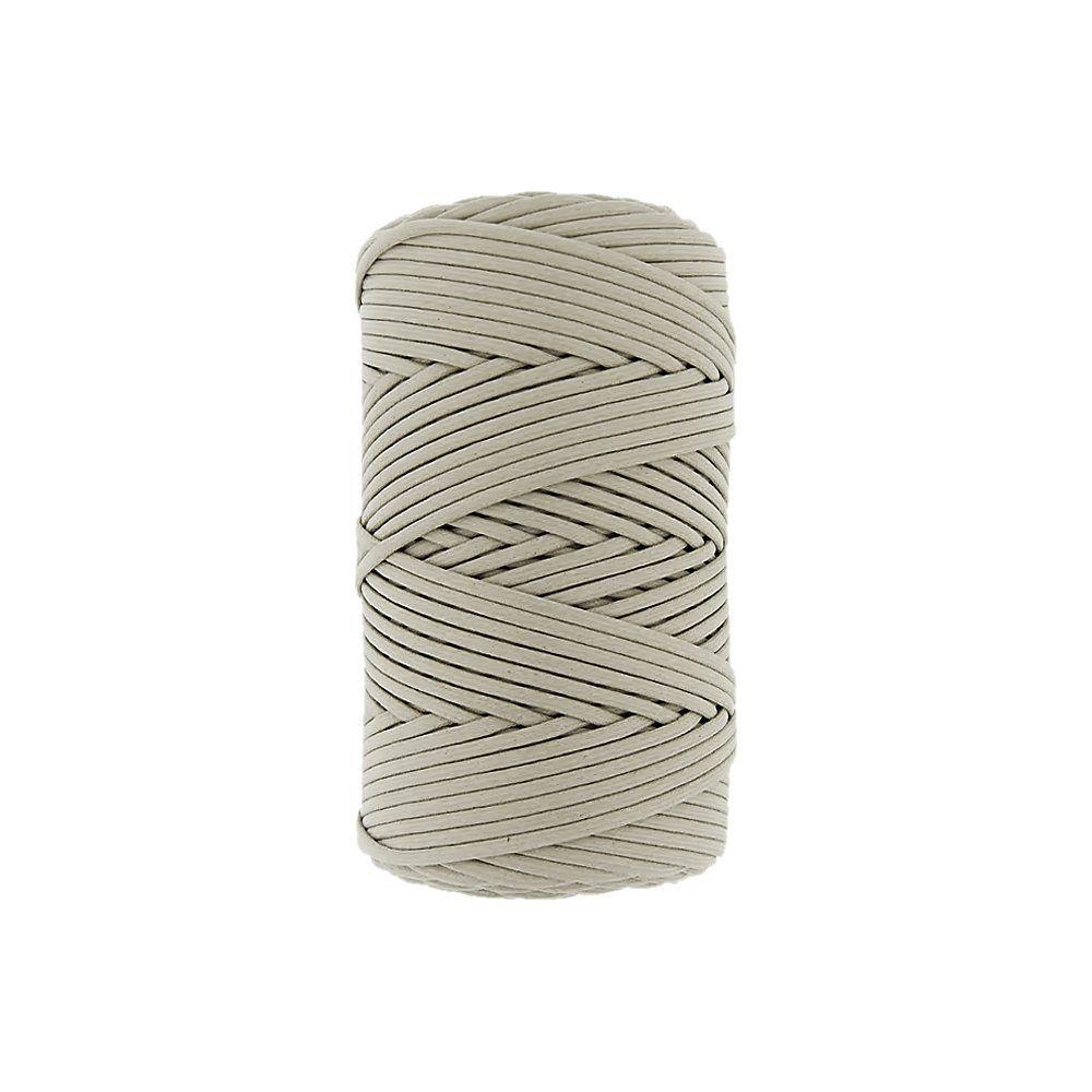 Cordão Encerado - Areia (434) - 3mm - 100m  - Nathalia Bijoux®