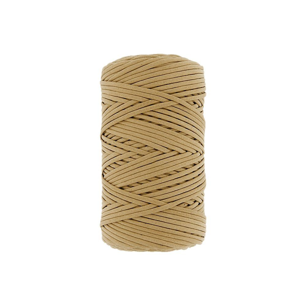 Cordão Encerado - Bege (021) - 3mm - 100m  - Nathalia Bijoux®