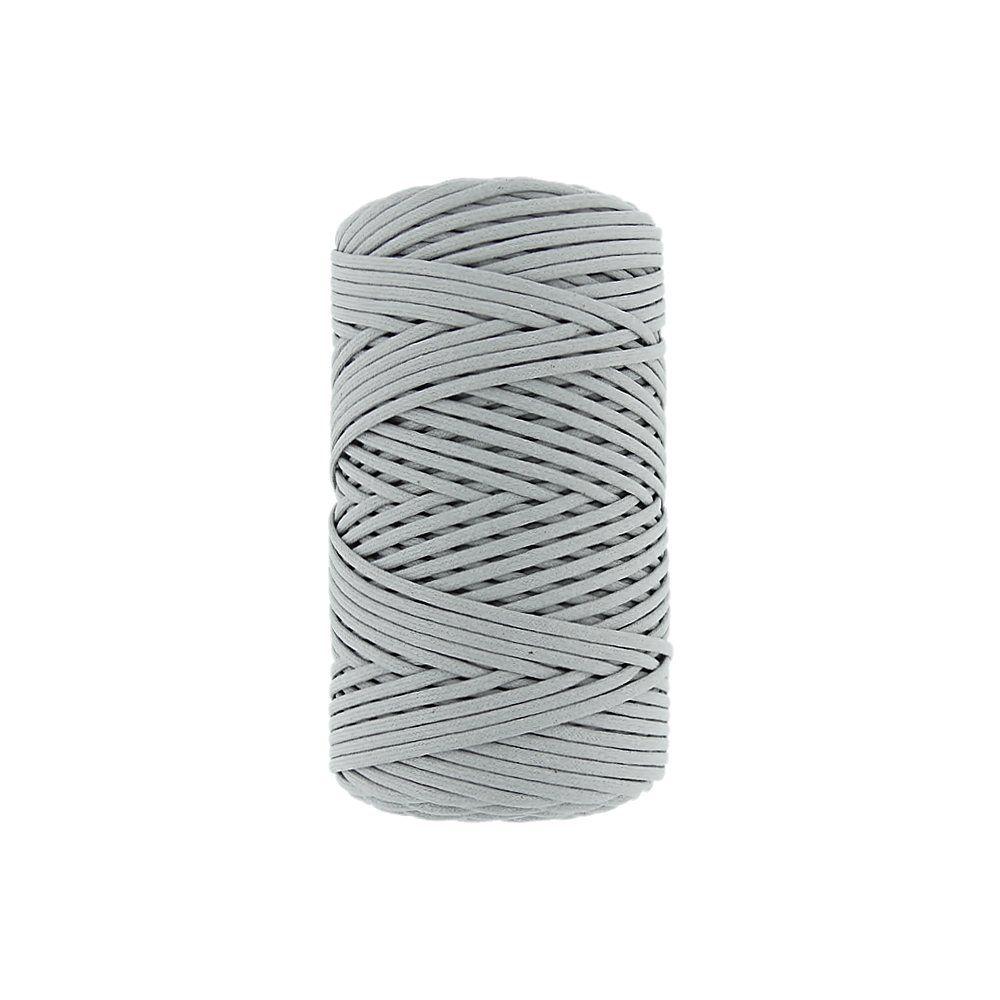 Cordão Encerado - Cinza (439) - 3mm - 100m  - Nathalia Bijoux®