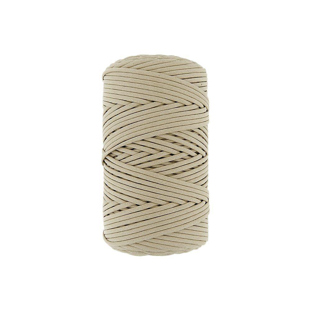 Cordão Encerado - Marfim (142) - 3mm - 100m  - Nathalia Bijoux®