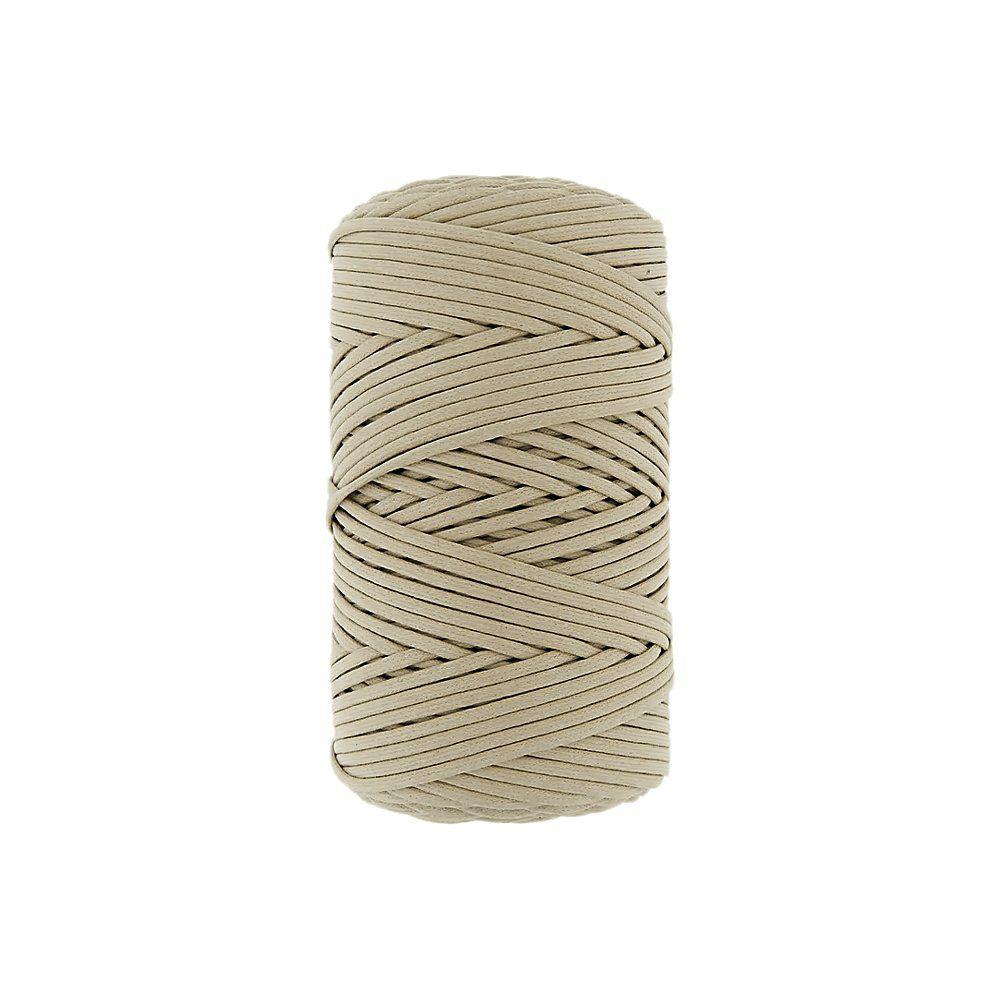 Cordão Encerado - Marfim (338) - 3mm - 100m  - Nathalia Bijoux®