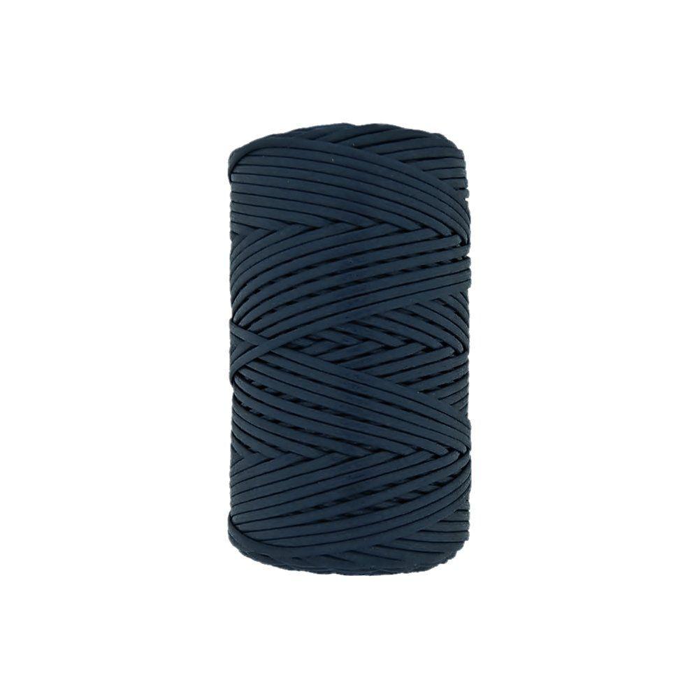Cordão Encerado - Marinho (308) - 3mm - 100m  - Nathalia Bijoux®