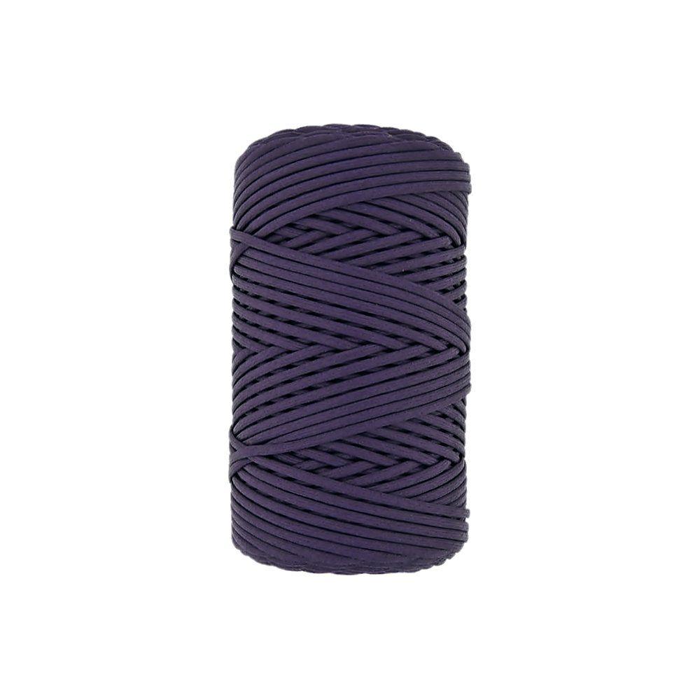 Cordão Encerado - Roxo (174) - 3mm - 100m  - Nathalia Bijoux®