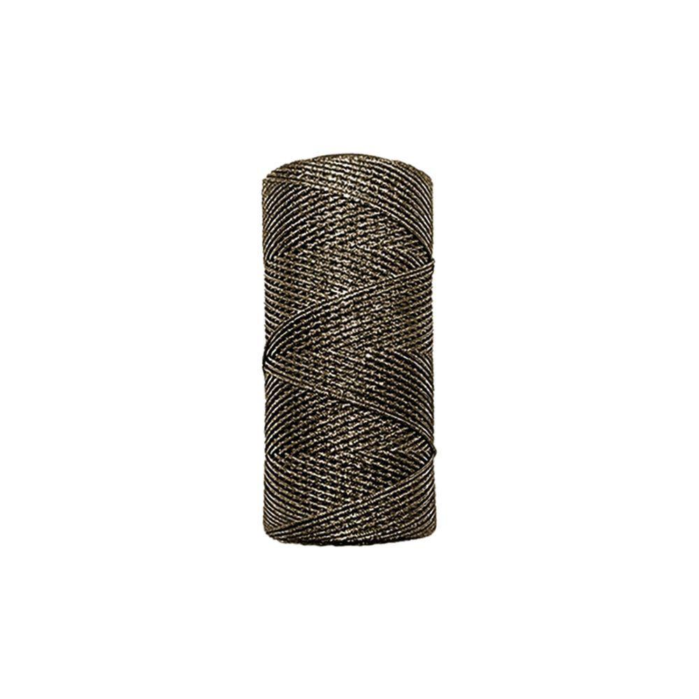 Cordão de Lurex - Bronze - 1mm - 100m  - Nathalia Bijoux®
