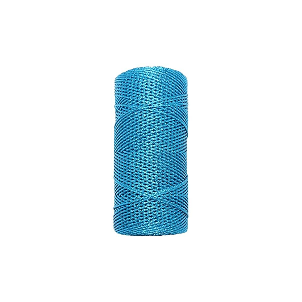 Cordão de Lurex - Azul Turquesa - 1mm - 100m  - Nathalia Bijoux®