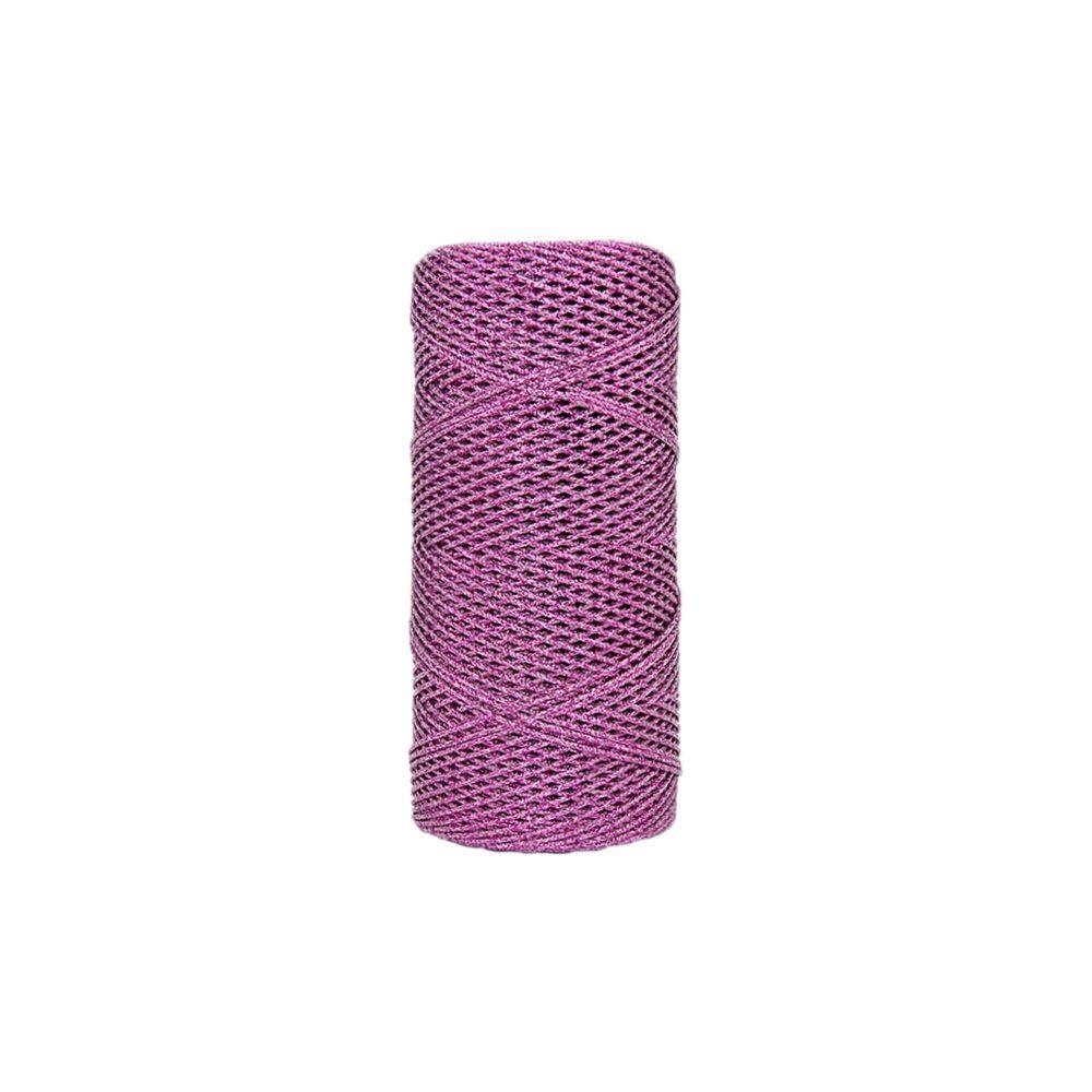 Cordão de Lurex - Pink - 1mm - 100m  - Nathalia Bijoux®