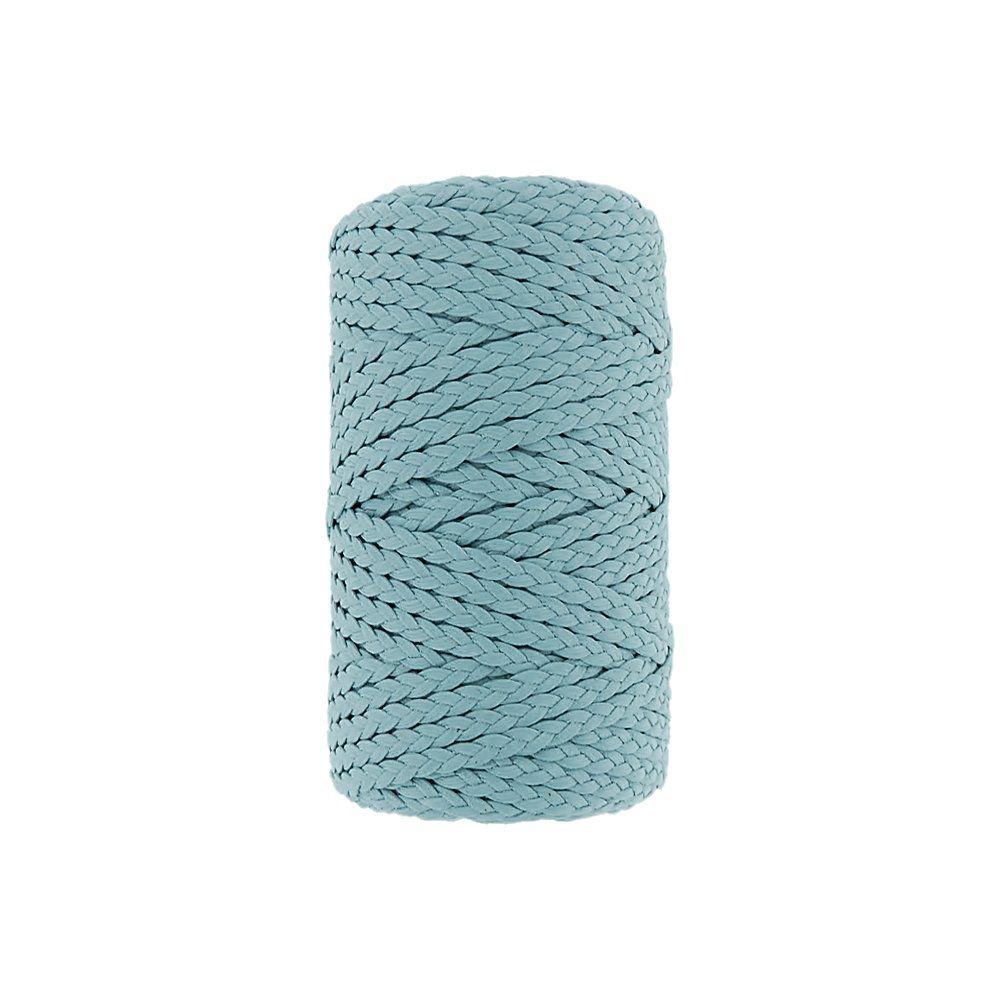 Cordão Encerado Trançado - Azul (191) - 5mm - 50m  - Nathalia Bijoux®