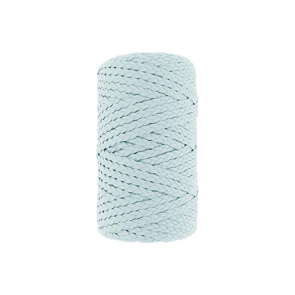 Cordão Encerado Trançado - Azul Bebê (403) - 5mm - 50m  - Nathalia Bijoux®