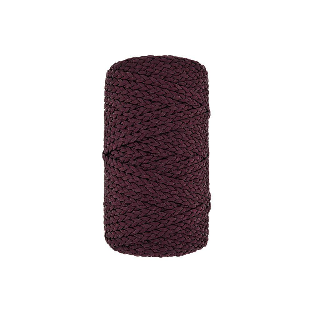Cordão Encerado Trançado - Bordô (3003) - 5mm - 50m  - Nathalia Bijoux®