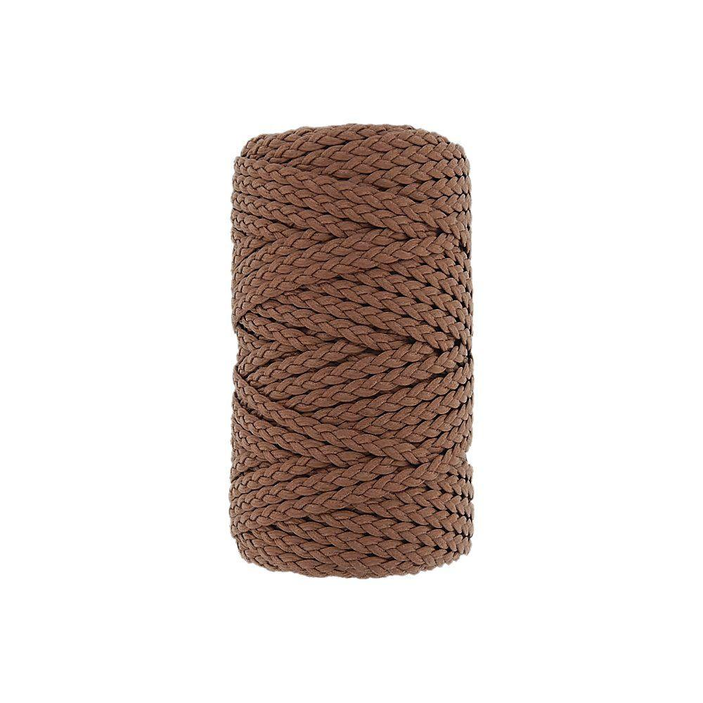 Cordão Encerado Trançado - Ferrugem (122) - 5mm - 50m  - Nathalia Bijoux®