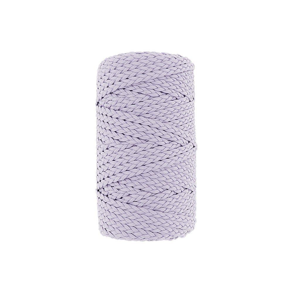Cordão Encerado Trançado - Lilás (428) - 5mm - 50m  - Nathalia Bijoux®
