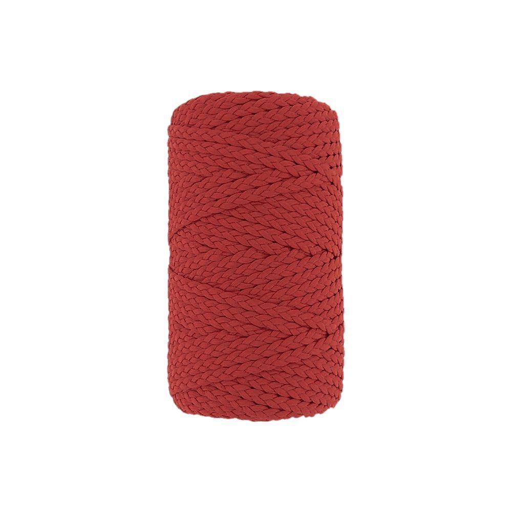 Cordão Encerado Trançado - Melancia (461) - 5mm - 50m  - Nathalia Bijoux®