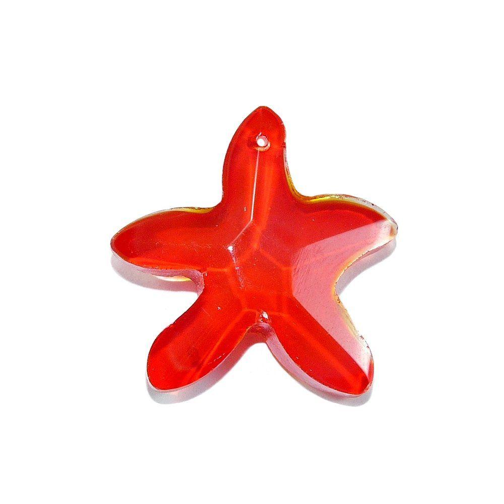 Pingente Estrela de Cristal - 28mm  - Nathalia Bijoux®