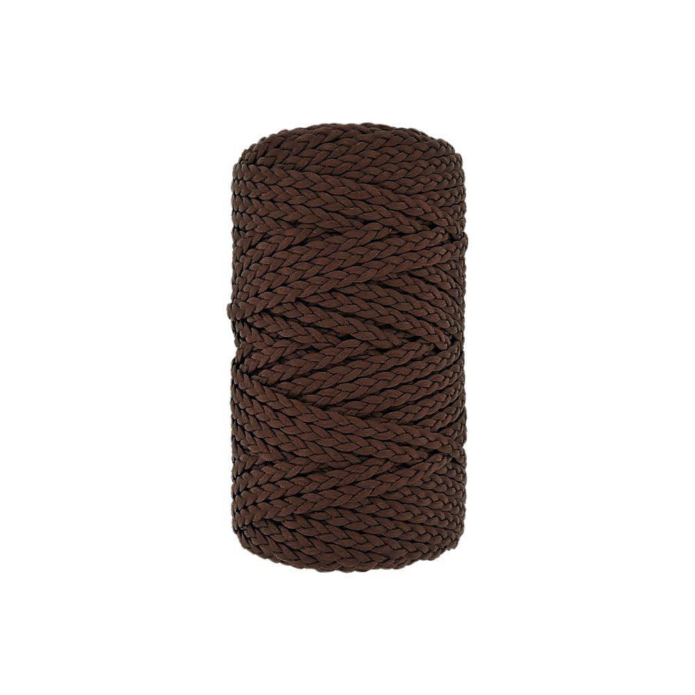 Cordão Encerado Trançado - Tabaco (391) - 5mm - 50m  - Nathalia Bijoux®