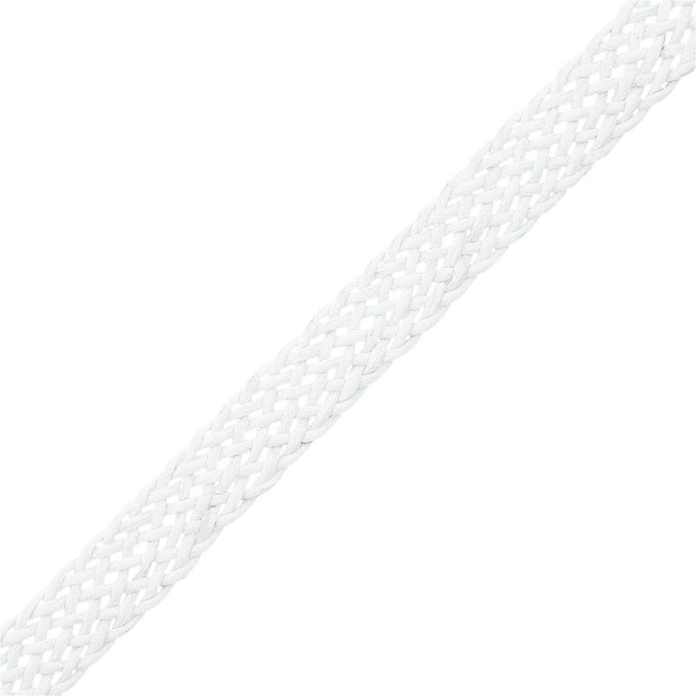 Cordão Encerado Trançado - Branco - 11mm - 25m  - Nathalia Bijoux®