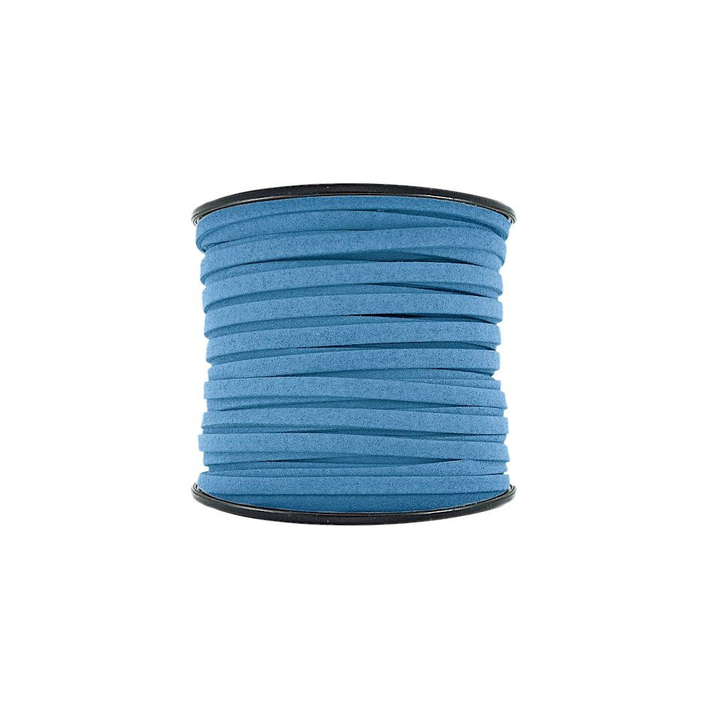 Fio de Camurça - Azul (926) - 5mm - 50m  - Nathalia Bijoux®