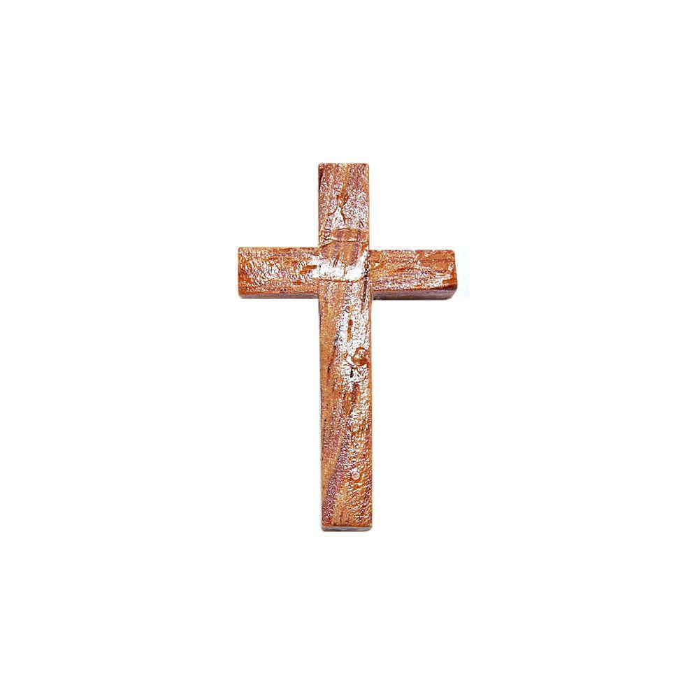 Pingente Cruz de Madeira - 35mm  - Nathalia Bijoux®