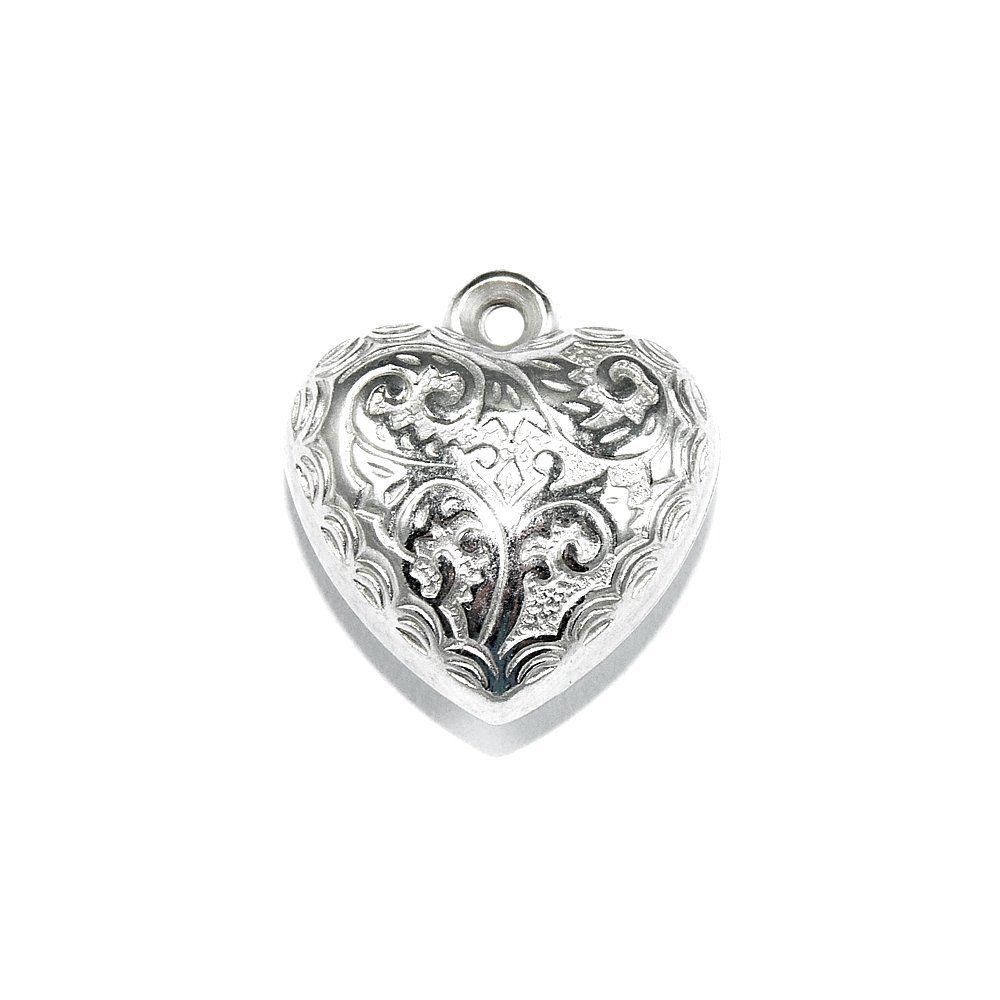 Pingente Coração de ABS - 22mm  - Nathalia Bijoux®