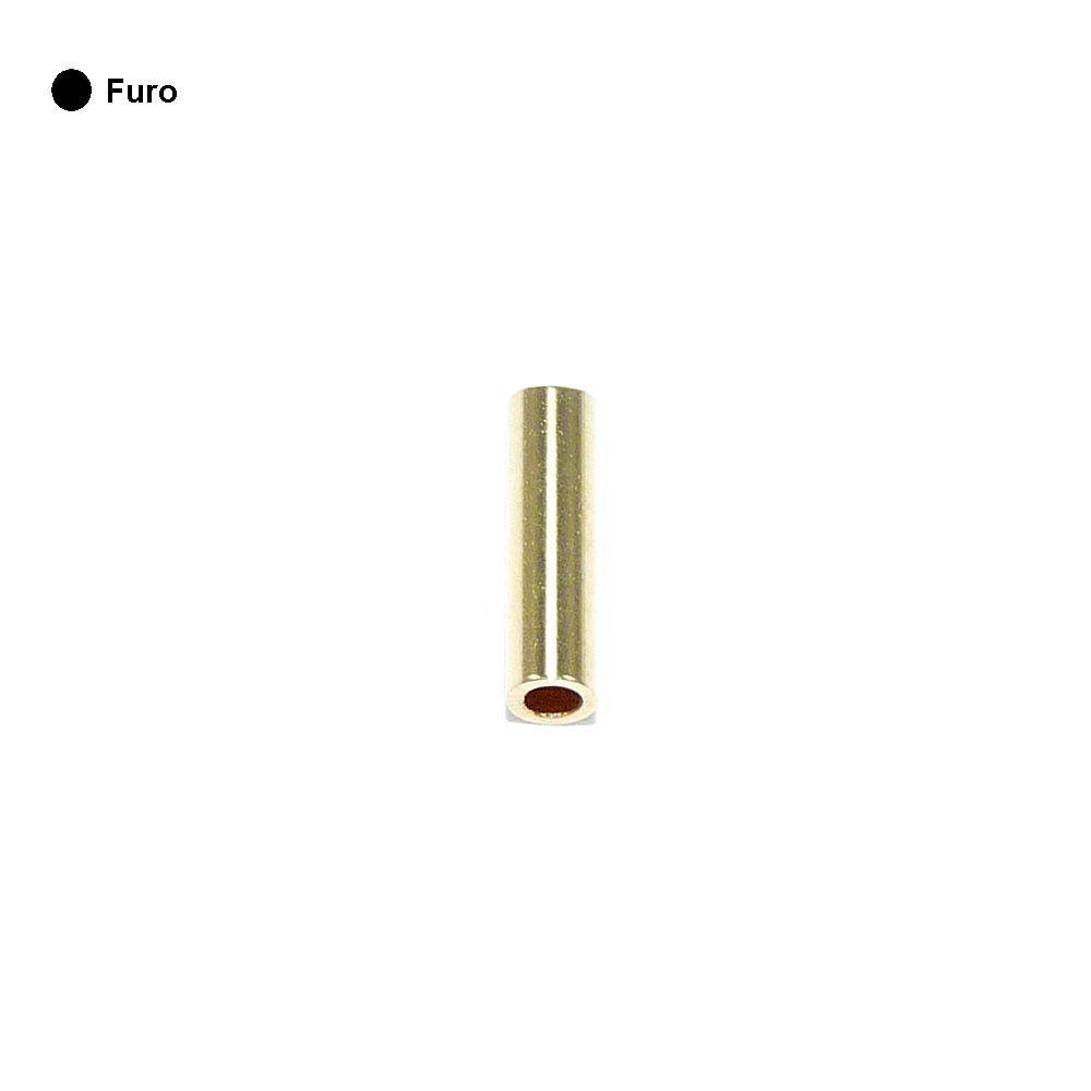 Entremeio Caninho de Metal - 6mm  - Nathalia Bijoux®