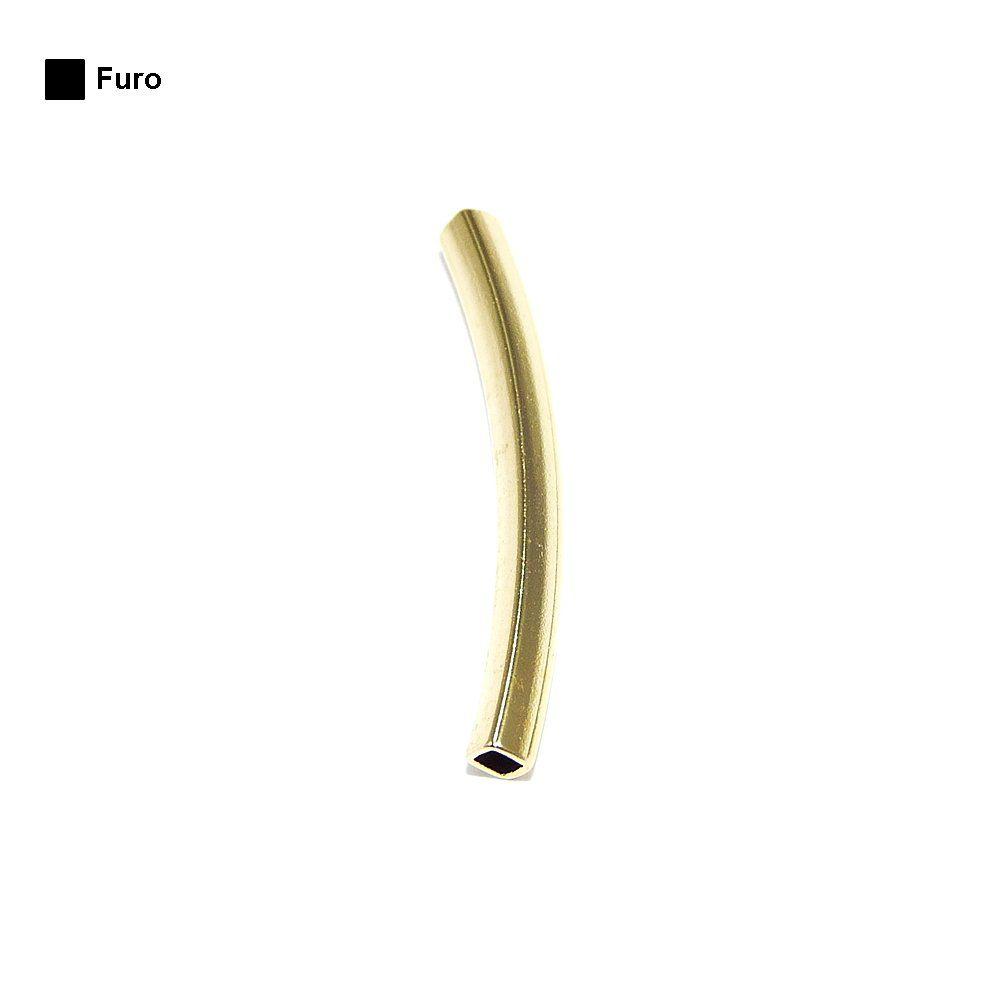Entremeio Caninho de Metal - 25mm  - Nathalia Bijoux®