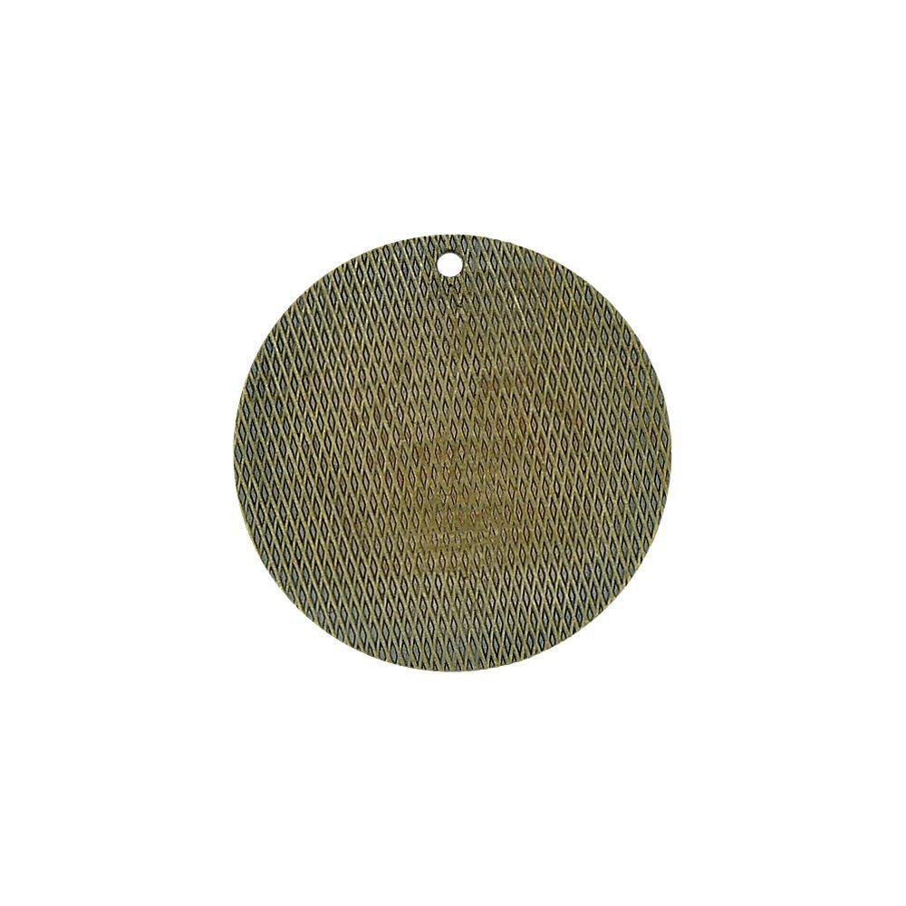 Pingente de Metal - 24mm  - Nathalia Bijoux®