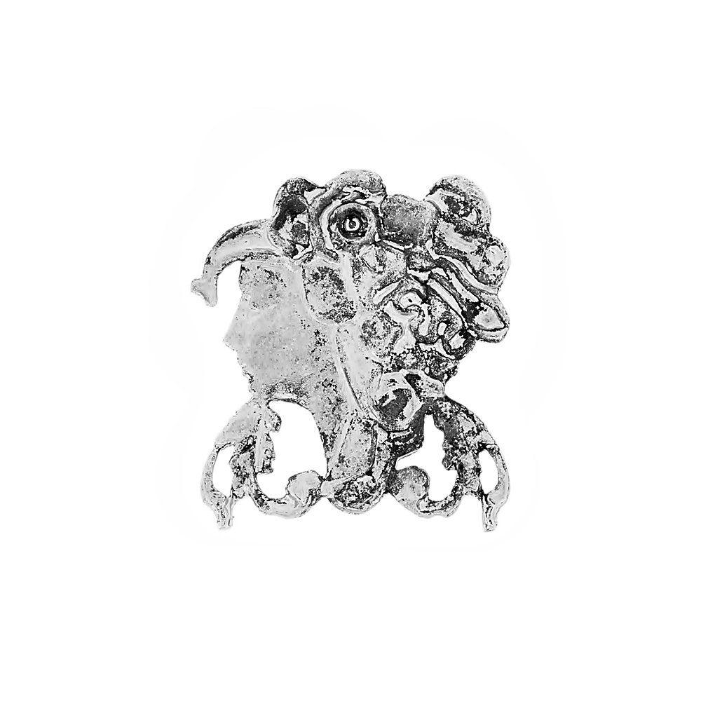 Aplique Camafeu de Metal - 45mm  - Nathalia Bijoux®
