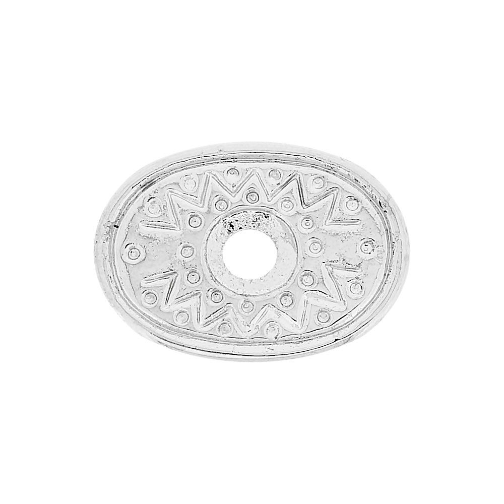 Aplique Base para Chaton de Metal - 26mm  - Nathalia Bijoux®