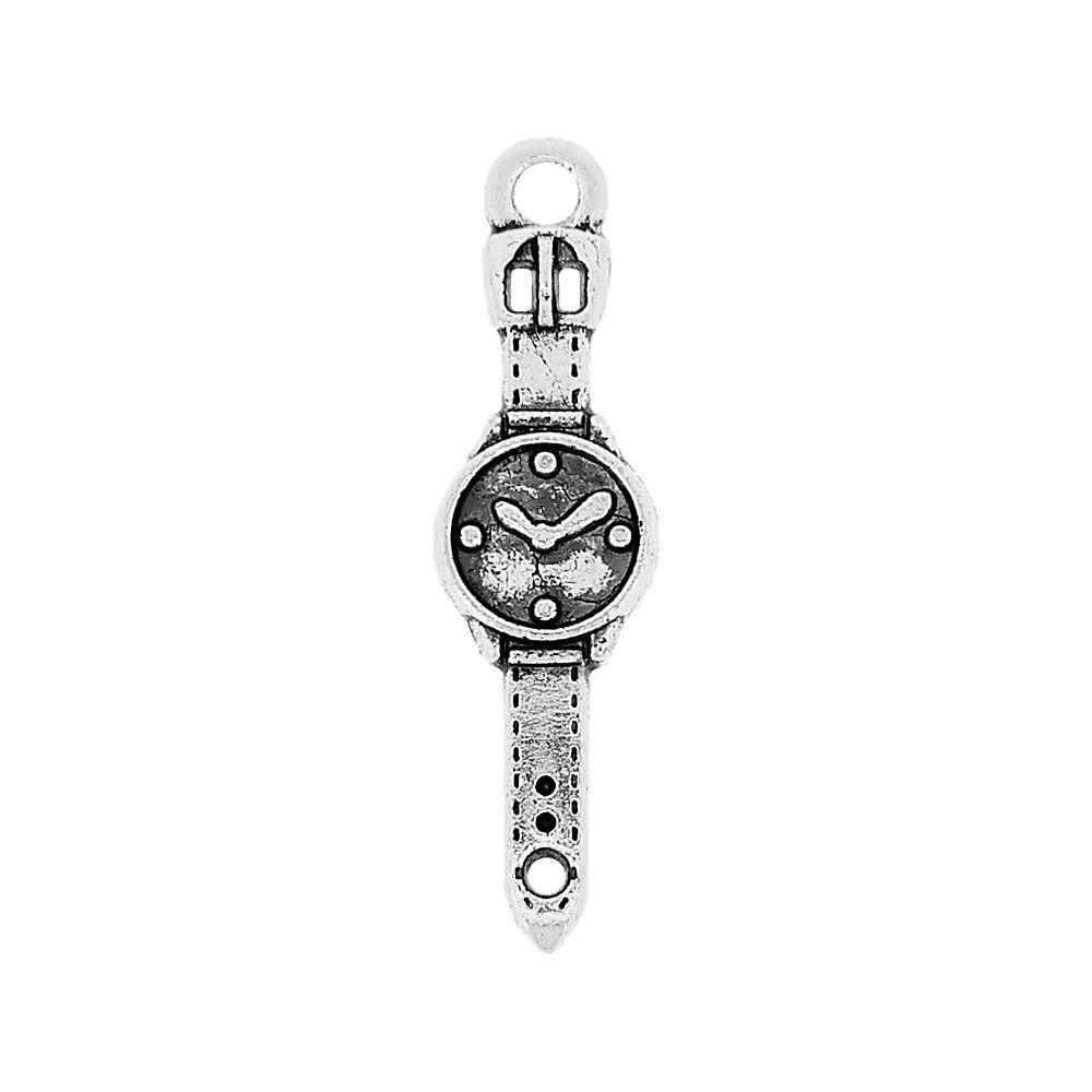 Pingente Relógio de Pulso de Metal - 24mm  - Nathalia Bijoux®