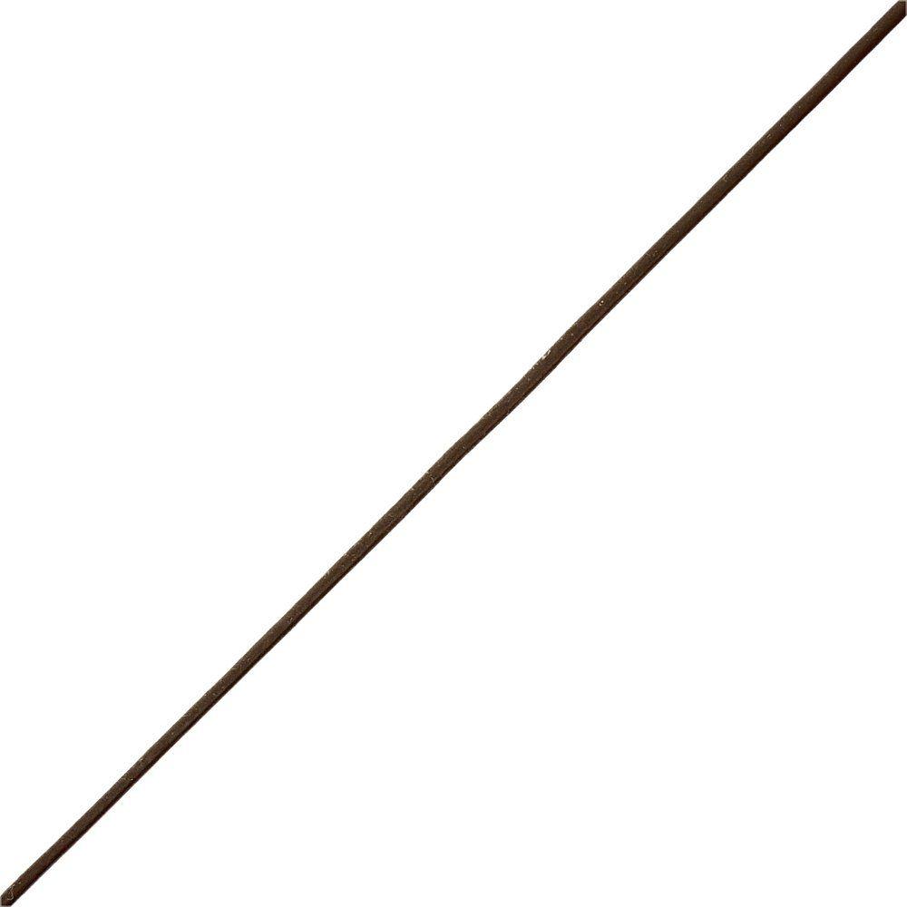 Fio de Couro Indiano - Café 1 - 1mm - 100m  - Nathalia Bijoux®