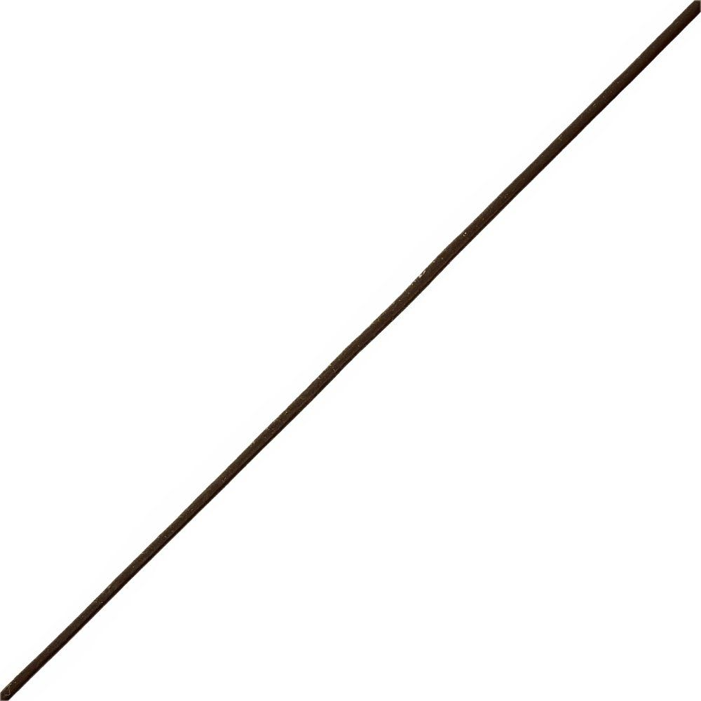 Fio de Couro Indiano - Café 2 - 1mm - 100m  - Nathalia Bijoux®